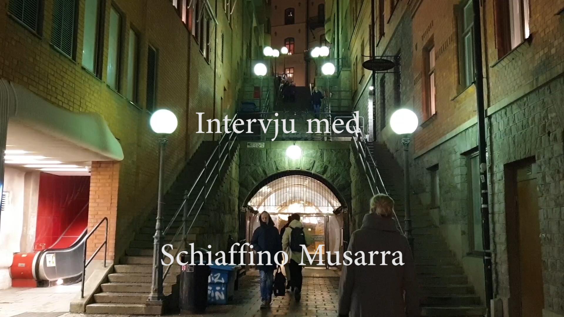 """Intervju med regissören till """"We got This"""" – Schiaffino Musarra"""